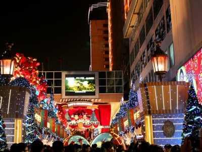圣诞去香港 2018香港圣诞节打折时间、活动信息