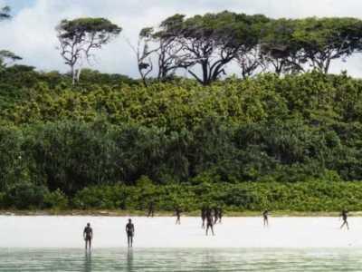 北森提奈岛 一个与世隔绝的小岛