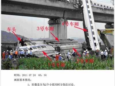 温州动车事故图片 掩埋车头真相大揭秘