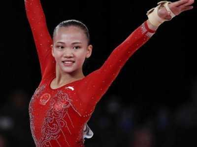 女子体操个人全能 夺亚运会女子体操个人首金的是广州女孩