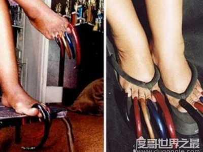 世界上最长的脚趾甲 最长脚趾甲长达12.7厘米